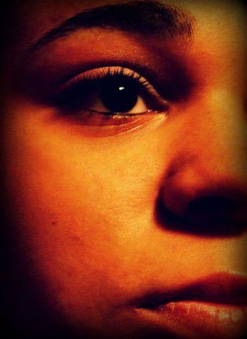 The eye Human Eye Human Body Part Human Face Close-up Looking At Camera Make-up Portrait Eye Olhar Olho OlhosCastanhos Olhos Castanhos Olhares