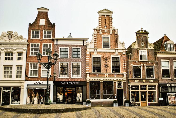 Buildings In Old Town