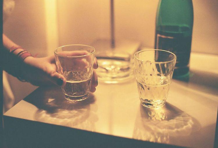 35mm Alcohol Cinematic Film Filmisnotdead Hotel Illuminated Indoors  Light Lighting Refreshment Shampain Shot Glass Table