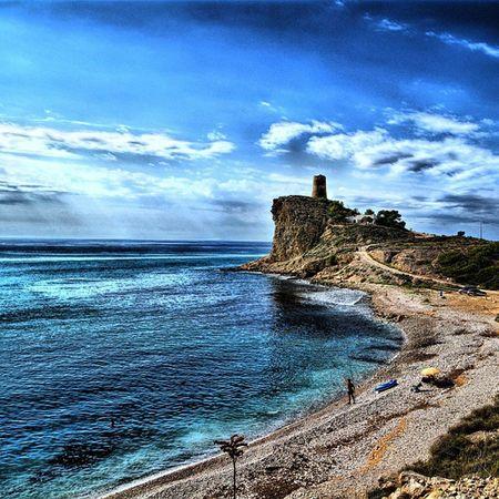 Mar Mediterraneo Cala Torreta Paseo Maritimo Olas Rocas Piedras Relax Descanso Junio Verano Natura Nadar Curl Sun Summer 2015  Nice Cute PERFECTO Love Caloret Vistas paisaje