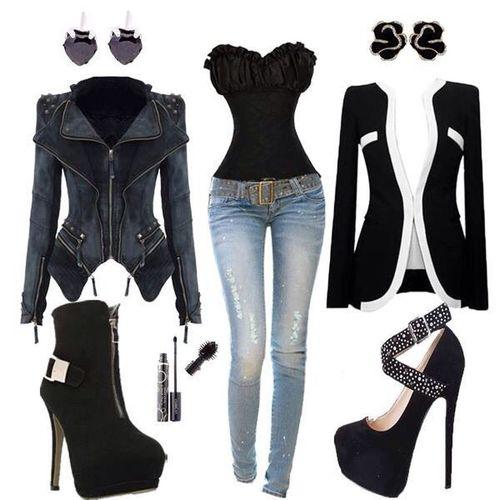 Clothes-BlackAndJeans❤️❤️❤️