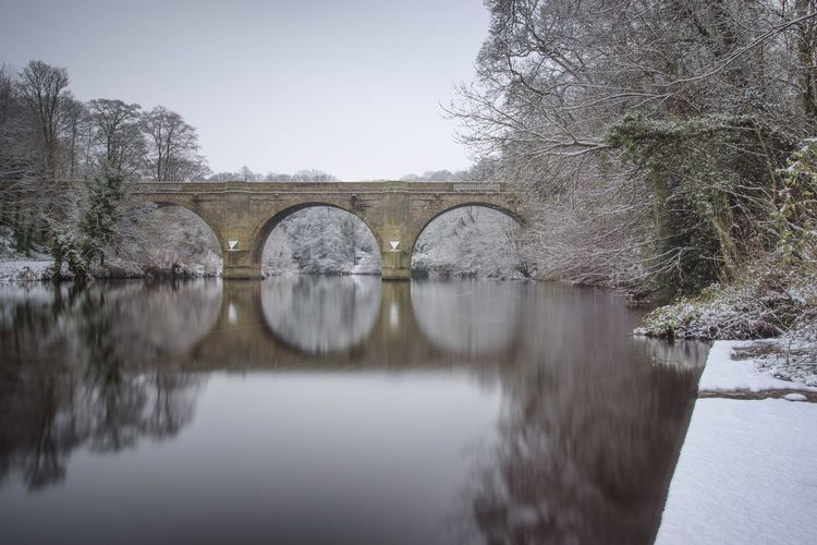 Durham City Prebends Bridge Bridge - Man Made Structure Arch Arch Bridge Architecture Connection Built Structure Water Day Nature Reflection Tree No People Outdoors Sky