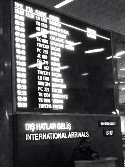 Priorities Airport Blackandwhite