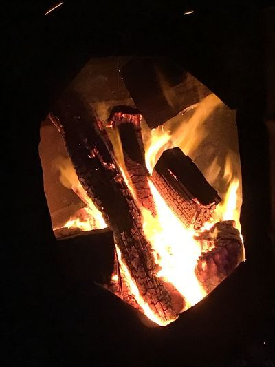 Camp fire. Lorne. Victoria. Australia Fire Flame Fire - Natural Phenomenon Burning Heat - Temperature Night Nature No People Log Glowing Fireplace Firewood Close-up Wood Indoors  Orange Color Wood - Material Bonfire Dark Illuminated Winter