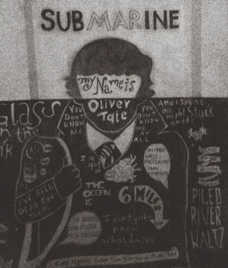 Submarine Oliver Tate Alex Turner Drawing