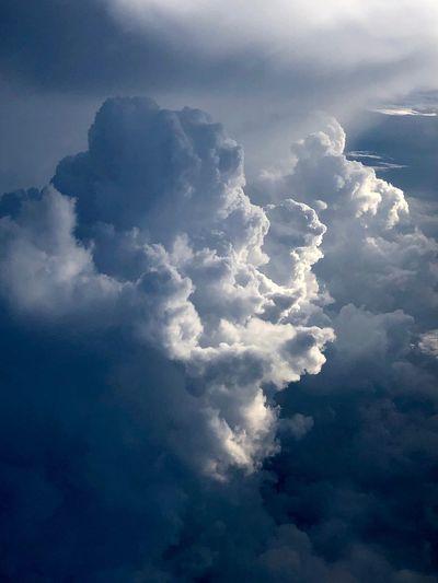 Clouds Alone
