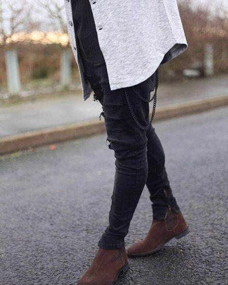 Brown Leather boot on fleek StyleStep
