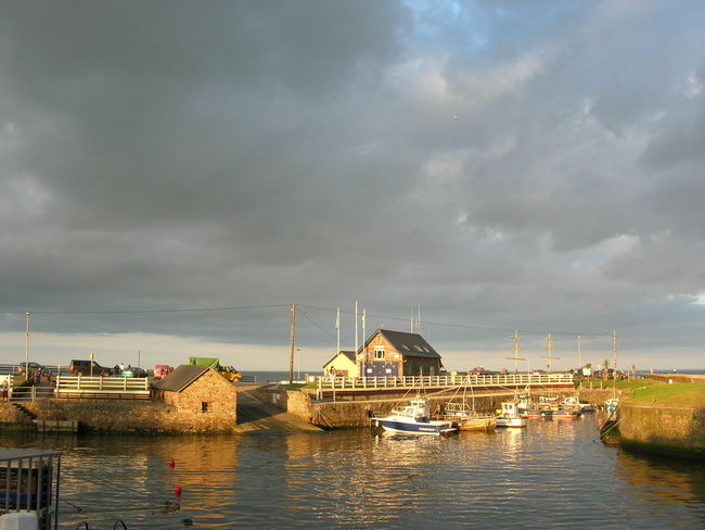 The beauty of Ireland is unsurpassed. The green of the landscapes, the grey of the sea, the colour of the houses. It mixes to a picture close to a painting. Harbour View Ireland Ireland🍀 Cloud - Sky Clouds And Sky Sea And Sky Sky Sunset