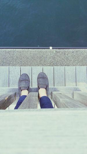 Atami Seaside Human Foot Japanese Style Hello World Mylegs Shoe Legs