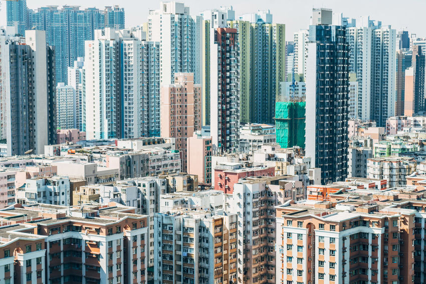 Aerial View DJI Mavic Pro DJI Mavic Pro Urban Skyline Tower Skyscraper Outdoors Modern Downtown District Downtown Day Crowded Cityscape City Life City Building Exterior Architecture Apartment Hong Kong