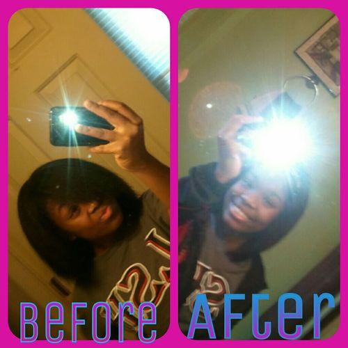 Finally did my hair:)