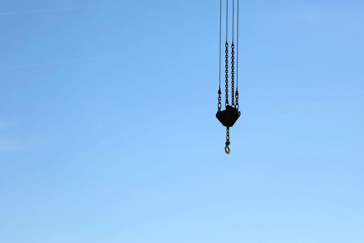 crane hook Blue