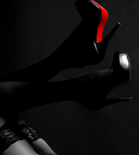 Beautiful Beauty Close-up Indoors  Legs Legs Legs Legs Red Studio Shot Women Young Adult Young Women
