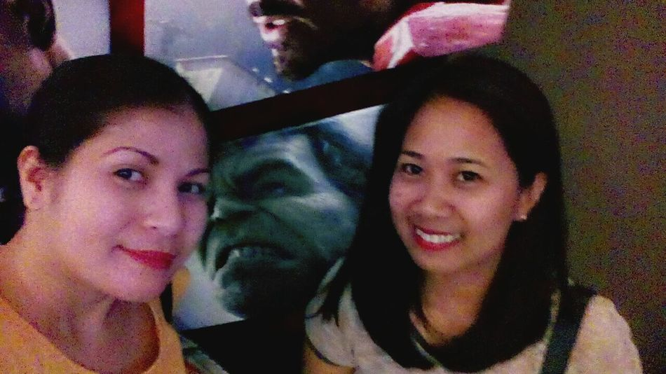 with my best buddy 😜 👯👯 Bestfriends Friendship Happiness Cinema Avengersageofultron Eye4photography  EyeEm Best Shots