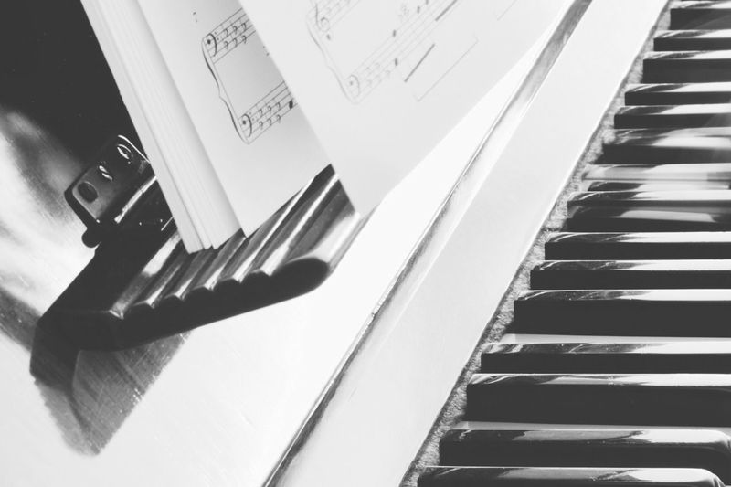 Piano Moments Sheet Music Piano Piano Keys Eye4photography  EyeEm Best Shots EyeEm Gallery Indoors  Classic No People Piano Lover Piano Time Close-up Music Musical Instrument Selective Focus Arts Culture And Entertainment Blackandwhite Black And White