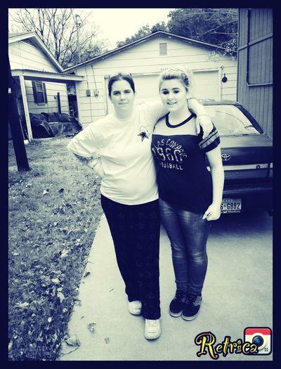 Mom And I (: