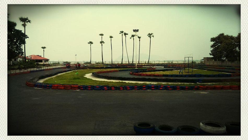 Go Karting Tracks Peaceful Nice Weather
