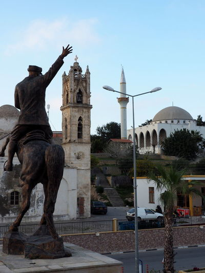 Atatürk Church Tower Cyprus EyeEmNewHere Architecture Dipkarpaz History Mosque Architecture Statue Two Religions