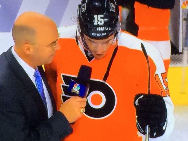 Hockey Game Flyers Philadelphia Flyers vs Rangers NHL