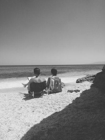 Enjoying Life Life Crete Greece Sea EyeEm Best Shots EyeEm Best Shots - Black + White The Week Of Eyeem Black And White Friday