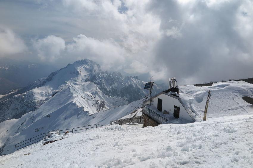 Rifugio Brioschi Grigna  Grigna Settentrionale Nature Snow Mountain