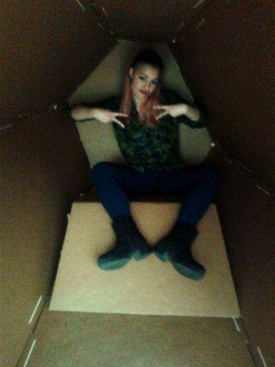 Gangster in a box ;) Kunstmuseum Taking Photos Relaxing Hanging Out Enjoying Life Stuttgart