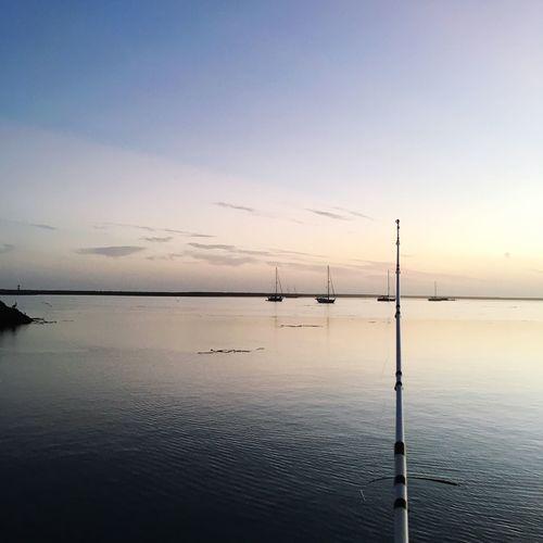 Sky Sunset Sea Nature