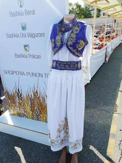 tradional women popular costume from Berat Region Fair In The Street Tourist Destination Travel Hobby Holiday Traditional Clothing Folklore Dressing ALBANIA❤️ Berati Pixelated Mannequin Transparent Information