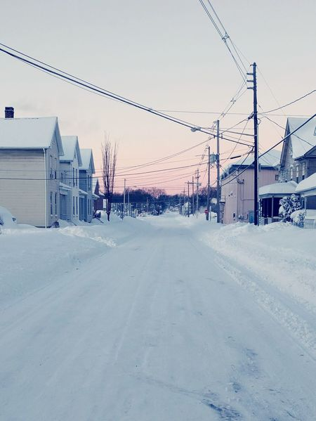 Snow Snowy Street Winter Jonas White Cold Frozen Frozen Nature Nexus 5x Nexus 5x Photography Mobile Photography Morning Sky Morning Blizzard 2016 Pastel Power