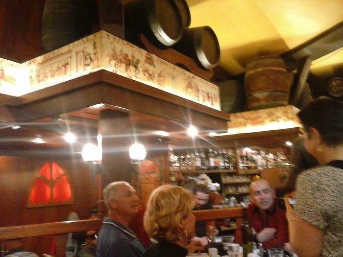 Lunch Time! Light . Medieval Restaurant Enjoying Life