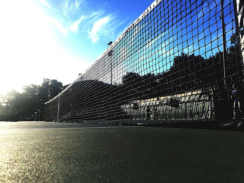 Sport Net - Sports Equipment Playing Field Sky Goal Goal Post Day No People Outdoors Sunlight Architecture Competition Tennis 🎾 Sommergefühle EyeEmNewHere