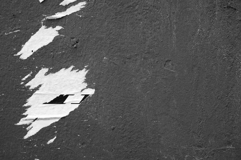 Urban background Architecture Background Blackandwhite Built Structure Close-up Dark Day Design Grey No People Outdoors Ripped Rough Surface Textured  Torn Urban Wall Strassenfilm
