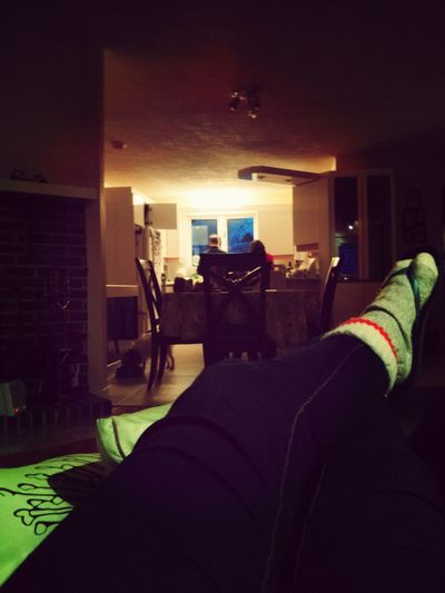 the little routine Home Relaxing Reading GoodTimes wearing socks and sandals again :)