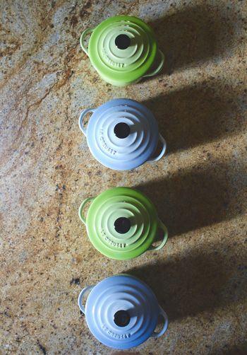 Close-up of spiral box