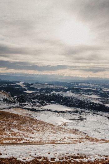 Colorado Pikes Peak Pikespeak Snow