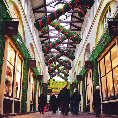 All ready for Christmas ????? in #covent garden #london London Covent