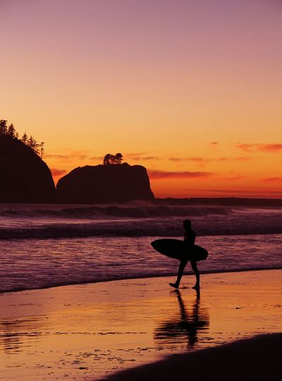Q is for Quileute Nation in La Push, WA. Pacific Northwest  Pacific Ocean Surfing Surfer Sunset Sunset Silhouettes Popular Photos Popular Recreational Pursuit Simple Life Authentic Moment Leisure Travel Adventure Surf Trip Leisure Activity Candid Moment Adventure Club Live For The Story Done That. Summer Sports