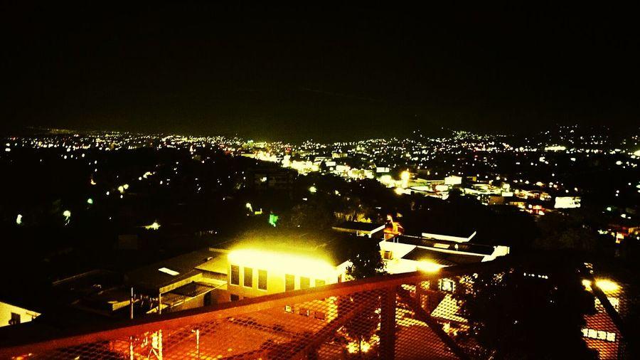 La ciudad desde mi terraza Architecture Enjoying The View Citylights Night View