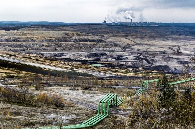 Turow Coal Mines Coal Mine Canyon Coal Mine Global Warming Pipeline Power Plant Coal Mine Day Ecology Ecology Problem Environmental Issues Fuel And Power Generation Industry Landscape Mine Mining Nature No People Opencast Mine Outdoors Pollution Scenics