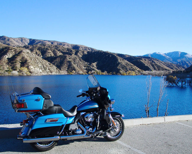 2011 Blue Blue Bike Blue Motorcycle Blue Wave Cruiser Electraglide Harley Davidson Limited Mode Of Transport Motorcycle Tranquility Transportation