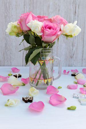 EyeEm Best Shots Flower Arrangement Love Romance Romantic Rose Petals StillLifePhotography Valentine's Day  Flat Lay Flatlay Flowers No People Pink Color Pink Flowers Pink Roses Roses Still Life