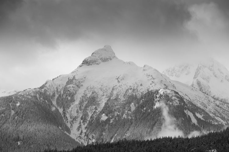 #beautifulbc #supernaturalBC #whereivebeen Beauty In Nature Cold Temperature Day Landscape Mountain Mountain Peak Mountain Range Nature No People Outdoors Scenics Sky Snow Snowcapped Mountain Winter
