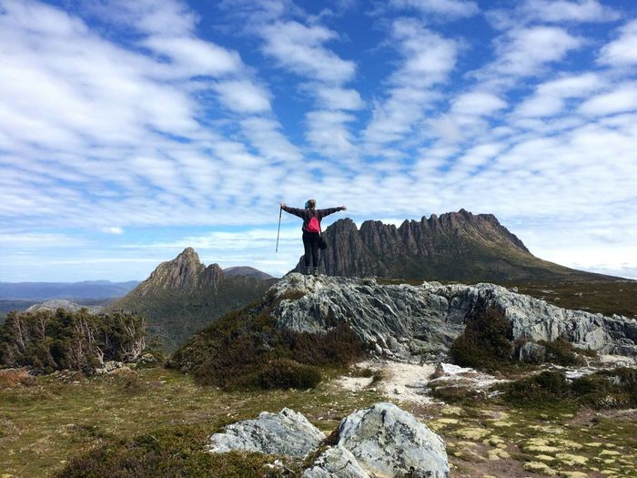 No Filter Needed Scenics Landscape Beauty In Nature Mountain Outdoors Adventure Tranquility Cloud - Sky Hikingphotography Cradle Mountain Good Times The Great Outdoors - 2017 EyeEm Awards