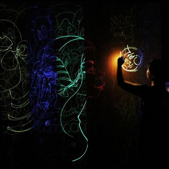 Lightattheendofthetunnel Light In The Darkness Laserlightphotography Laserlight House Of Vans Laserplay