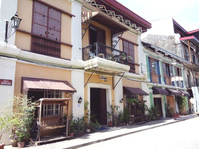 Old house at Vigan, Philippines Architecture Building Exterior House Built Structure Outdoors No People Day Old Buildings Vigan Philippines Residential Building Street Sky City