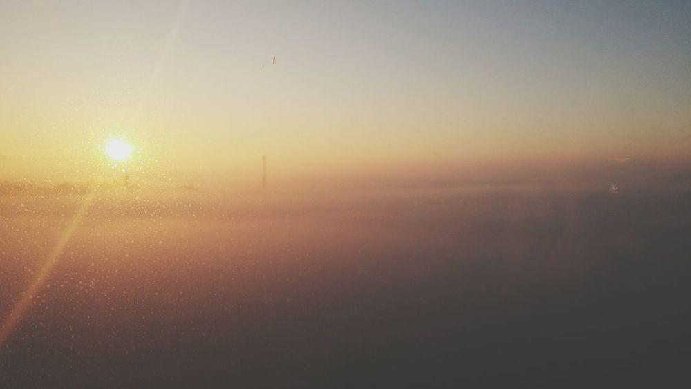 Sun Incek Misty Morning Hello World Sunrise Building Behind Window Beutiful Day Eyem Misty Day Sunshine