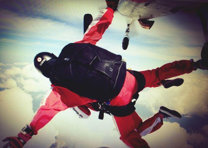 No return Skyjump Air Flying