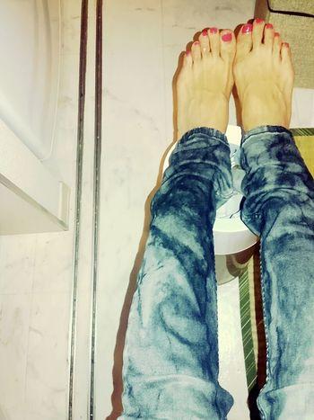 Myfoot Pink Nails