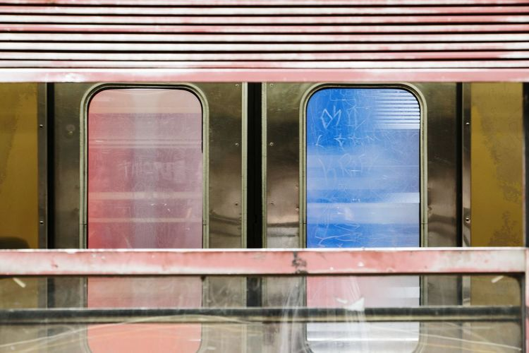 Commuting Train Public Transportation