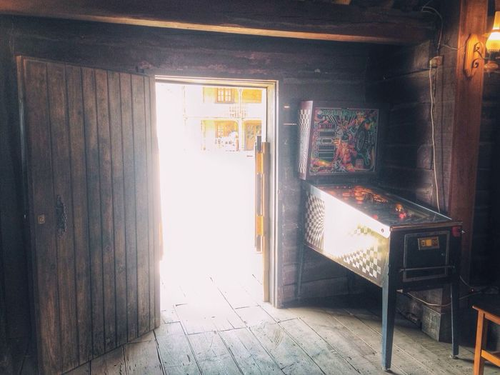Old pinball in a Western backlot. Vscocam Interior Design Movies